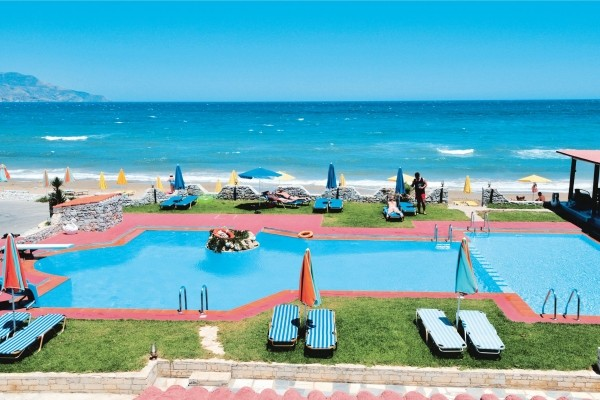 Piscine - Hôtel Mari Beach 3* Georgioupolis Crète