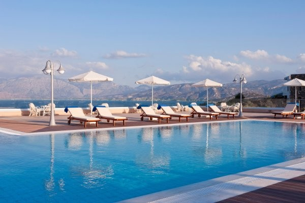 Piscine - Hôtel Miramare Resort & Spa 4* Heraklion Crète