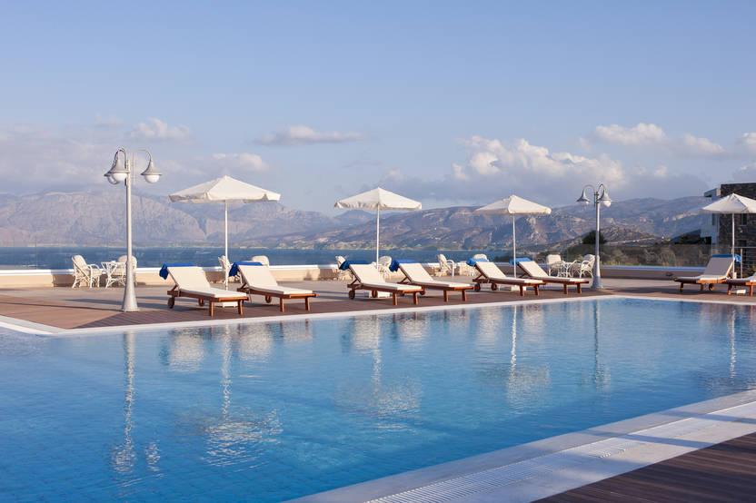 Piscine - Hôtel Miramare Resort & Spa 4* Agios Nikolaos Crète