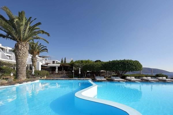 Piscine - Hôtel Saint Nicolas Bay Resort Cat.Luxe Heraklion Crète