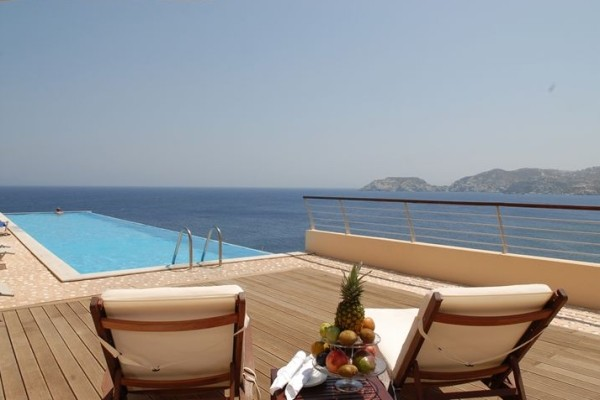 Piscine - Hôtel Sea Side Resort & Spa 5* Heraklion Crète