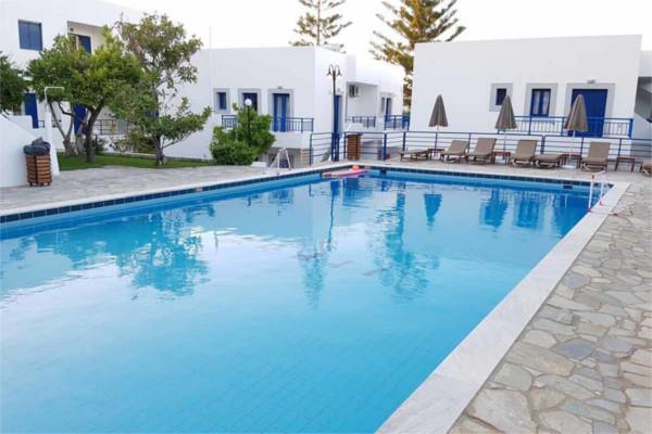 Piscine - Hôtel Sea Side 3* Heraklion Crète