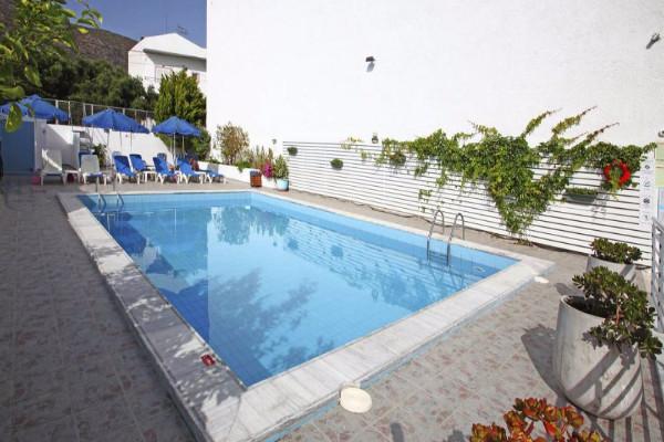 Piscine - Hôtel Sergios 3* Heraklion Crète