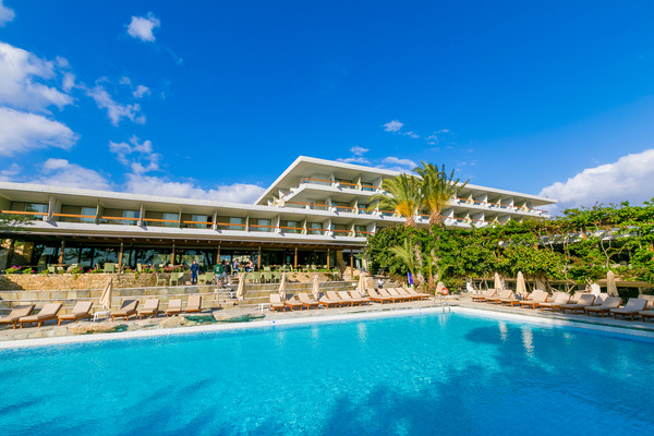 Piscine - Hôtel Sitia Beach 4* Heraklion Crète