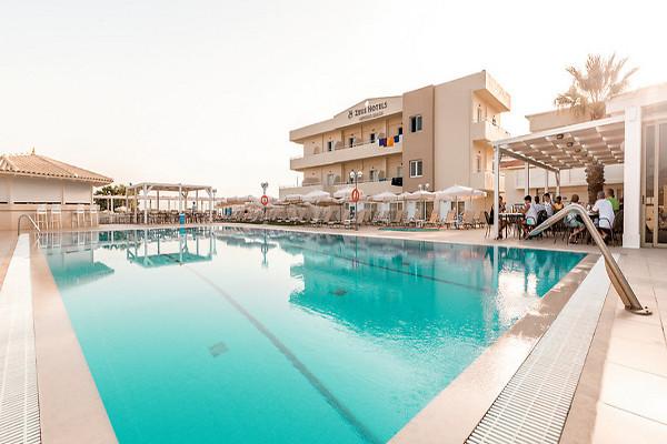 Piscine - Hôtel Smartline Neptuno Beach 4* Heraklion Crète