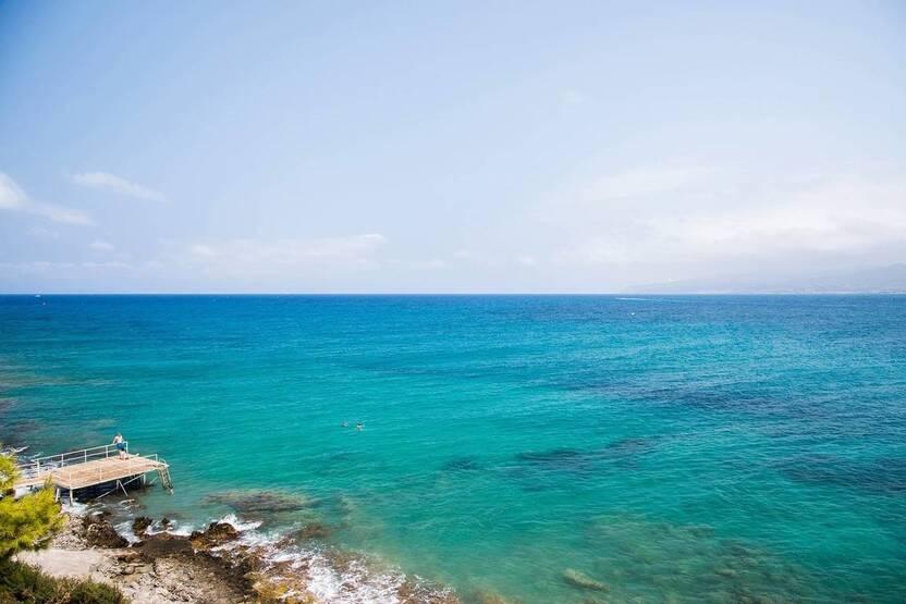 Plage - Hôtel Horizon Beach 4* Heraklion Crète