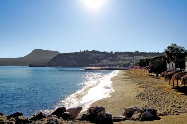 Plage - Hôtel Kalyves Beach 4* Heraklion Crète