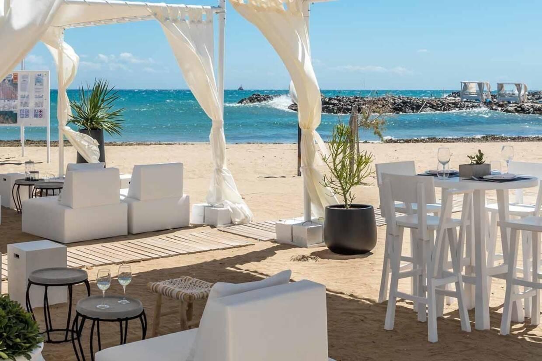 Plage - Hôtel Knossos Beach Bungalows & Suites Resort & Spa 5* Heraklion Crète