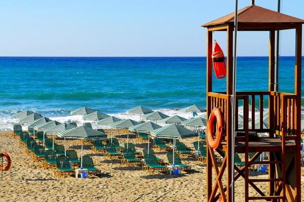 Plage - Hôtel Minos Mare 4* Heraklion Crète