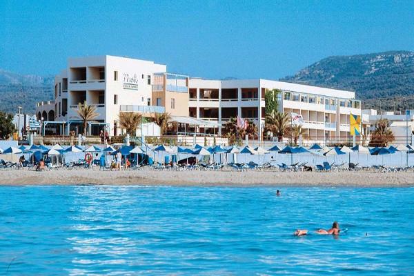 Plage - Hôtel Pearl Beach 4* Heraklion Crète