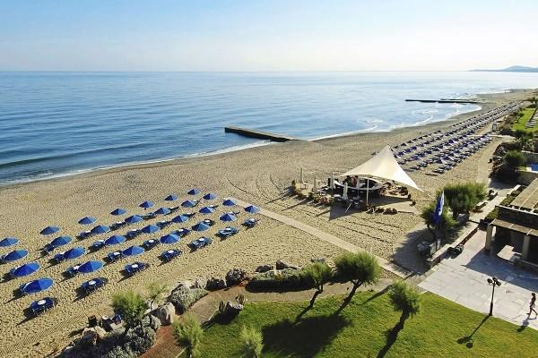 Plage - Hôtel Rithymna Beach 4* Heraklion Crète