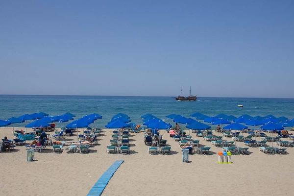 Plage - Hôtel Sentido Aegean Pearl 5* Heraklion Crète