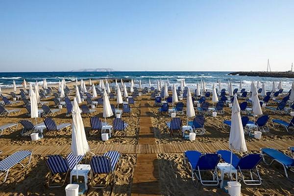 Plage - Hôtel Top Clubs Astir Beach 4* Heraklion Crète