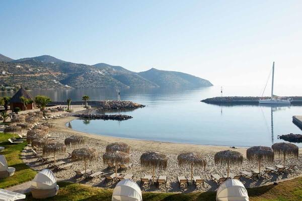 Plage - Hôtel Wyndham Gand Crète Mirabello Bay 5* Heraklion Crète