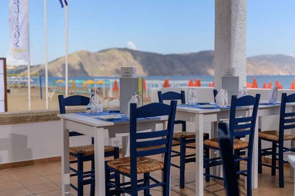 Restaurant - Hôtel Eliros Mare 4* sup Georgioupolis Crète