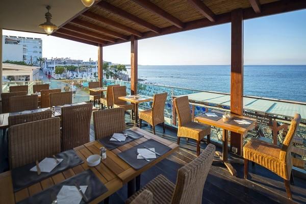 Restaurant - Hôtel Golden Beach 4* Heraklion Crète