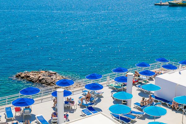 Terrasse - Coral 3* Heraklion Crète