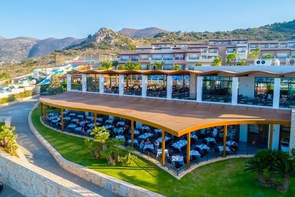 Terrasse - Hôtel Ôclub Experience Grand Hotel Holiday Resort 4* Heraklion Crète