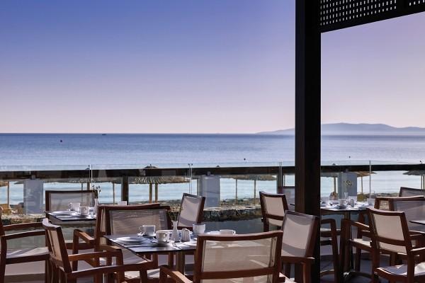 Terrasse - Hôtel Splashworld Atlantica Akti Zeus 4* Heraklion Crète