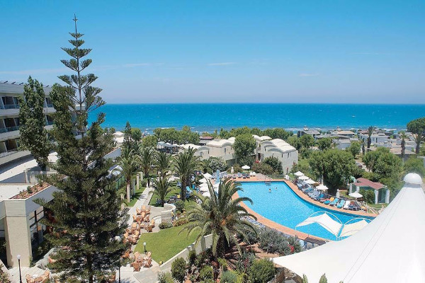 Vue panoramique - Hôtel Agapi Beach Resort 4* Heraklion Crète