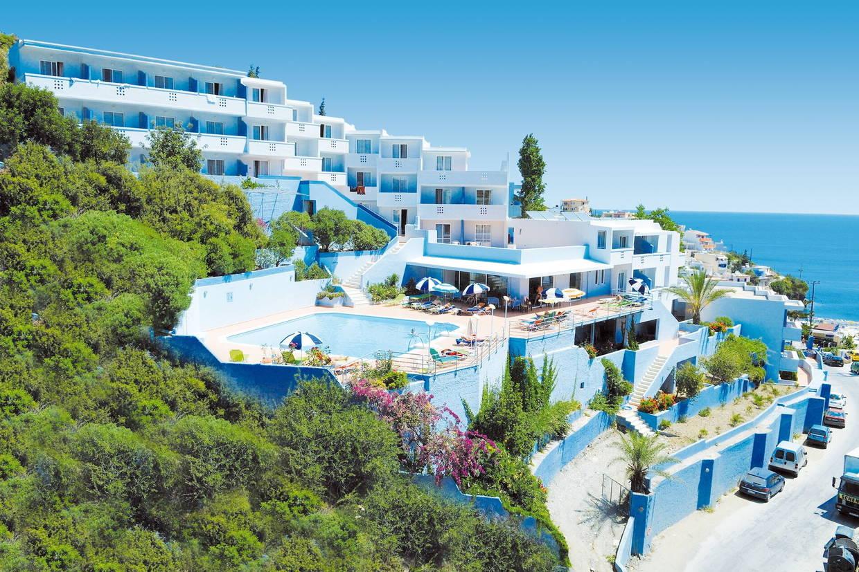 Vue panoramique - Hôtel Bali Beach & Village 3* Heraklion Crète
