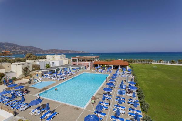 Vue panoramique - Hôtel Bravo Club Dolphin Bay 4* Heraklion Crète