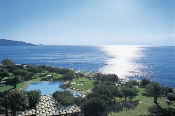 Vue panoramique - Hôtel Elounda Beach & Villas 5* Heraklion Crète