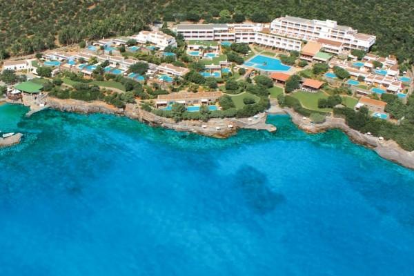 Vue panoramique - Hôtel Elounda Mare Luxe Heraklion Crète