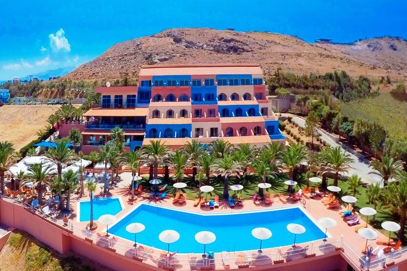 Vue panoramique - Hôtel Europa Resort 3* Heraklion Crète