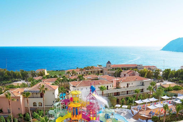 Vue panoramique - Hôtel Grecotel Marine Palace 4* Panormo Crète