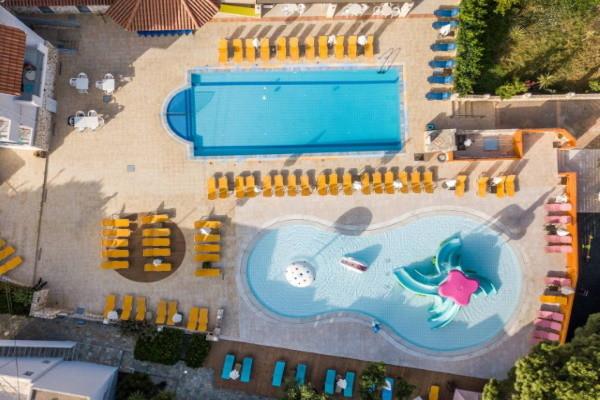 Vue panoramique - Hôtel Katrin & Bungalows 4* Heraklion Crète