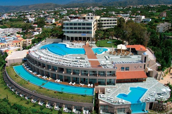 Vue panoramique - Hôtel Panorama 4* Heraklion Crète