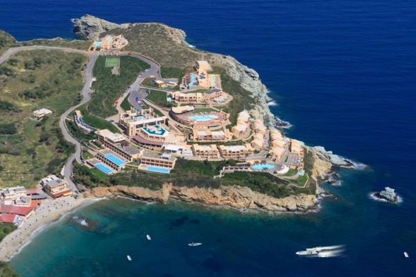 Vue panoramique - Hôtel Sea Side Resort & Spa 5* Heraklion Crète