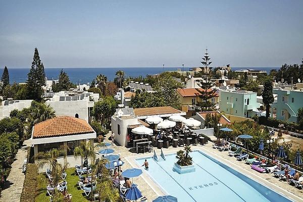 Vue panoramique - Hôtel Smartline Kyknos Beach 4* Heraklion Crète