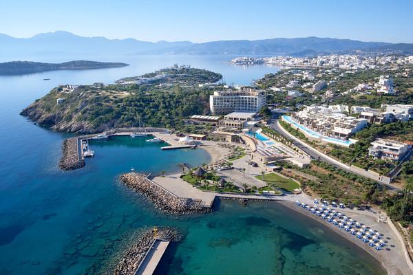 Vue panoramique - Hôtel Wyndham Grand Crete Mirabello Bay 5* Heraklion Crète