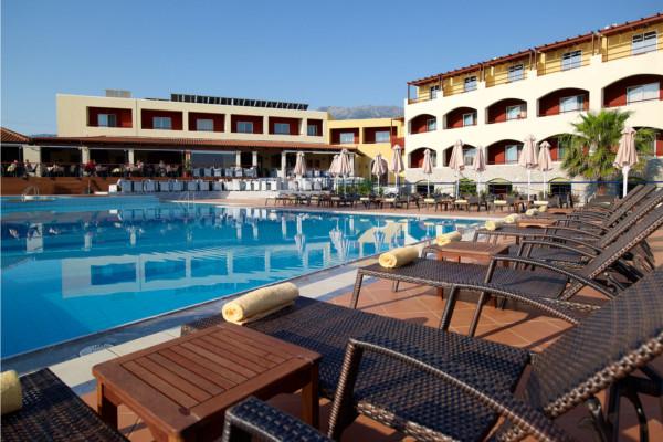 Piscine - Hôtel Eliros Mare 4* La Canée Crète