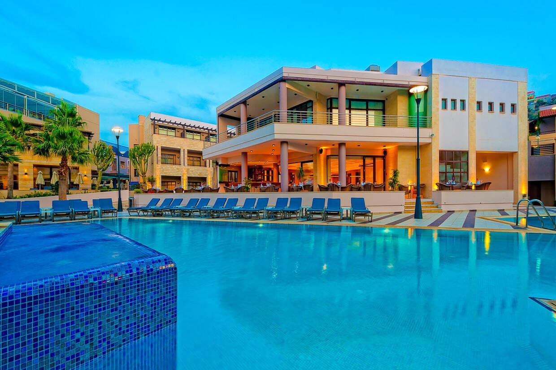 Piscine - Hôtel Porto Platanias Beach Resort & Spa 5* La Canée Crète