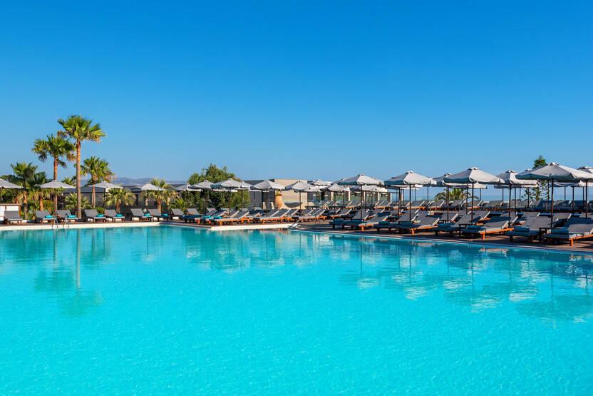 Piscine - Hôtel Solimar Aquamarine 5* La Canée Crète