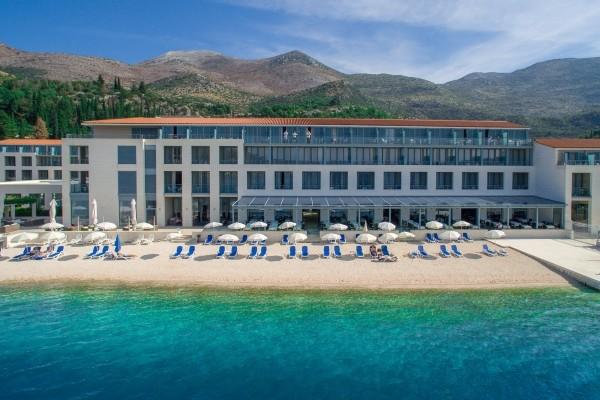 Facade - Hôtel Admiral Grand 5* Dubrovnik Croatie