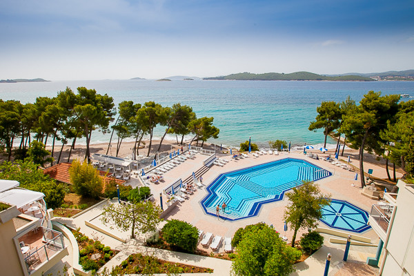 Piscine - Aminess Grand Azur (Ex Grand Hotel Orebic) 4* Dubrovnik Croatie