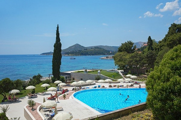 Piscine - Hôtel Astarea 3* Dubrovnik Croatie