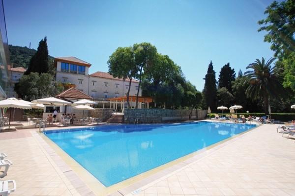 Piscine - Hôtel Grand Hotel Park 4* Dubrovnik Croatie