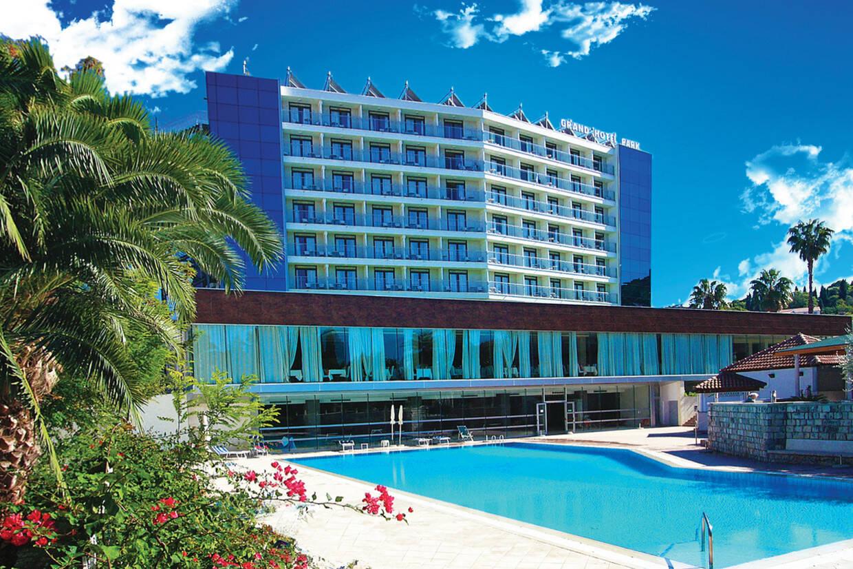 Piscine - Grand Hotel Park 4*Sup Dubrovnik Croatie