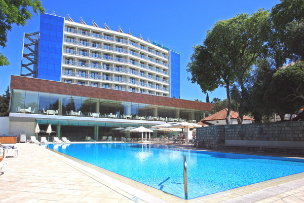 Piscine - Grand Hotel Park 4*Sup
