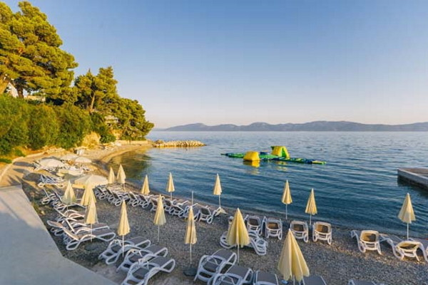 Plage - Club Top Clubs Morenia 4* Dubrovnik Croatie