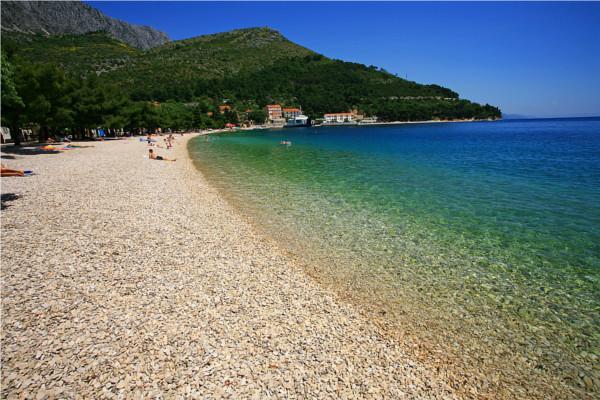 Plage - Hôtel Top Clubs Quercus 4* Dubrovnik Croatie