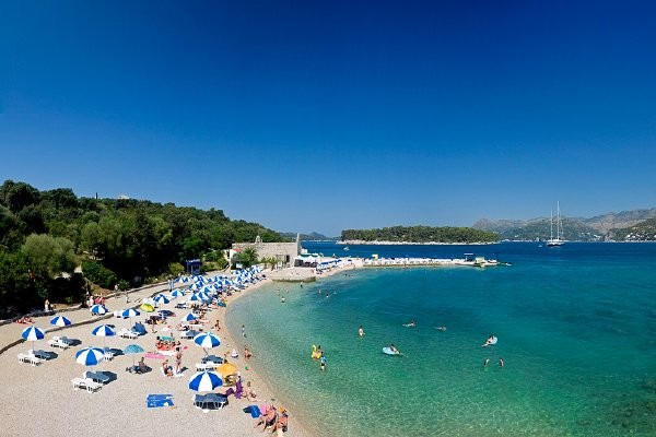 Plage - Hôtel Valamar Argosy 4* Dubrovnik Croatie