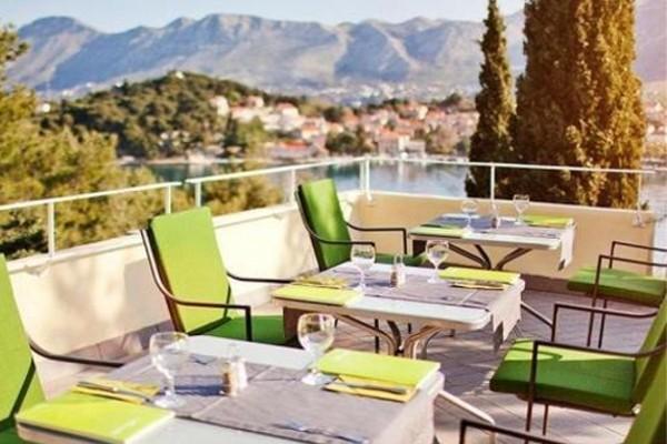 Terrasse - Hôtel Croatia Cavtat 5* Dubrovnik Croatie