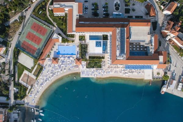 Vue panoramique - Hôtel Admiral Grand 5* Dubrovnik Croatie