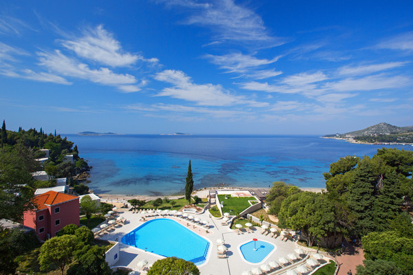 Vue panoramique - Hôtel Astarea 3* Dubrovnik Croatie